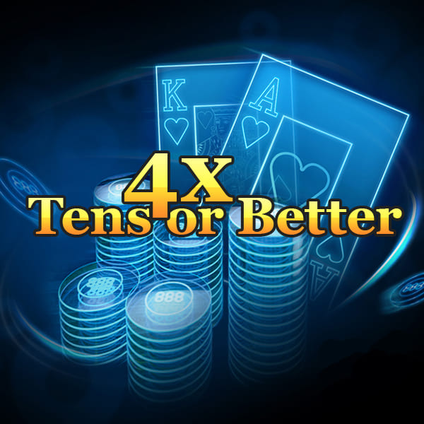 4X TENS OR BETTER
